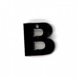 Letra B de Metacrilato