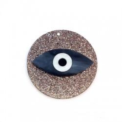 Colgante de Metacrilato Ojo de Suerte 50mm