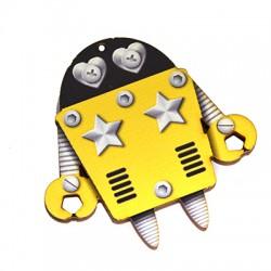 Cοlgante de Madera Robot 60x59mm