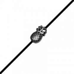 Entrepieza de Metal Zamak Piña 6x10mm (Ø 1.5mm)