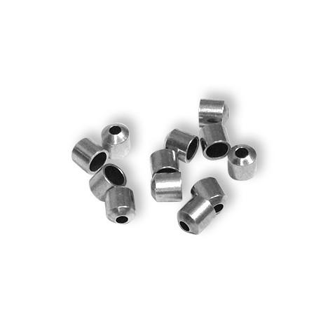 Capuchón de Metal Latón 4x4.2mm (Ø 3.2/1.5)