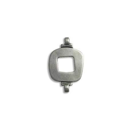Conector de Metal Zamak Cuadrado 19x34mm