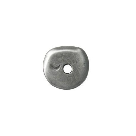 Disco de Metal Zamak Irregular 30mm (Ø 5.4mm)
