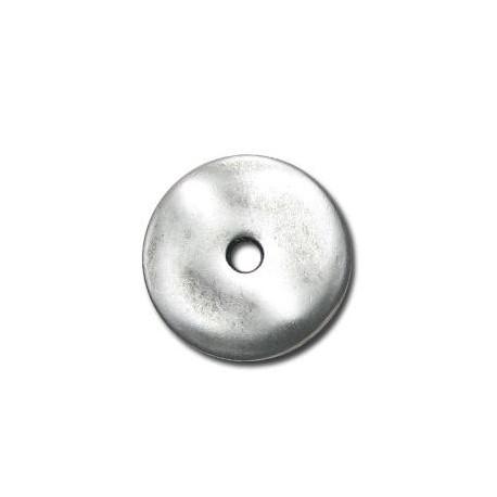 Disco de Metal Zamak 25mm (Ø 3.6mm)
