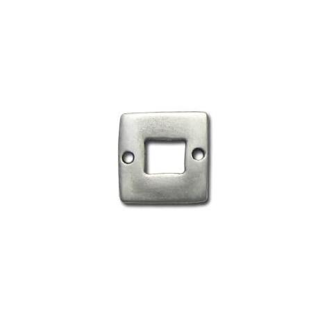 Conector de Metal Zamak Cuadrado 20mm