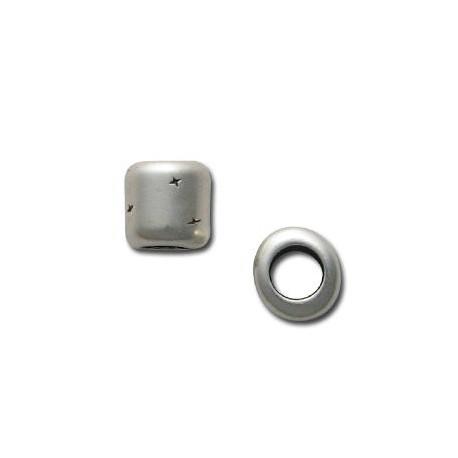 Entrepieza de Metal Zamak Tubo 10x10.5mm (Ø 6.2mm)