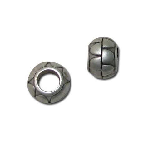 Entrepieza de Metal Zamak Bola 12mm(Ø 5.7mm)