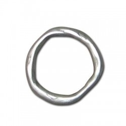 Anilla de Metal Zamak Irregular 14mm