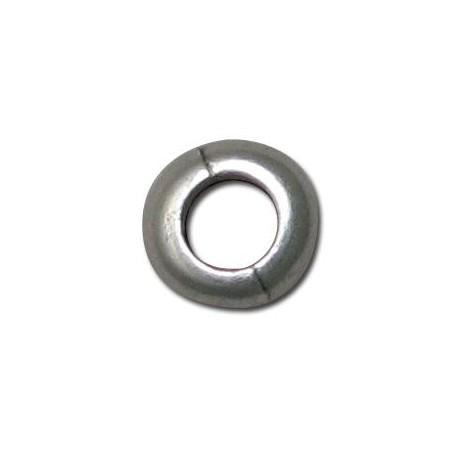 Entrepieza de Metal Zamak Rondel 10x4mm (Ø 5.5mm)