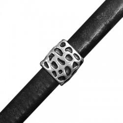 Pasador/Tubo de Metal Zamak para Regaliz  15x11x14mm (Ø 10x7mm)