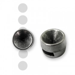 Pasador de Metal Zamak con Base para Cristal (Ø 2.2x7mm) (Encaja SS29)