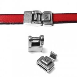 Cierre Gancho de Metal Zamak 28x14mm (Ø 10.5x2mm)