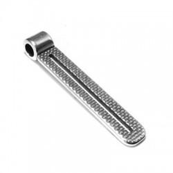 Colgante de Metal Zamak 40x7mm