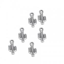 Colgante de Metal Zamak Cactus 7x12mm