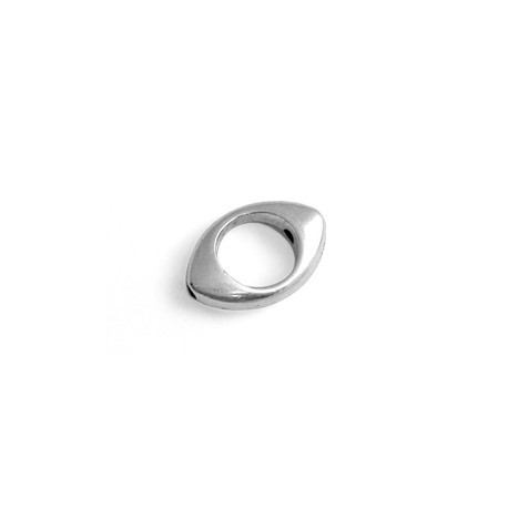 Pasador ovalado de Metal Zamak 11x15mm (Ø 1,5mm)