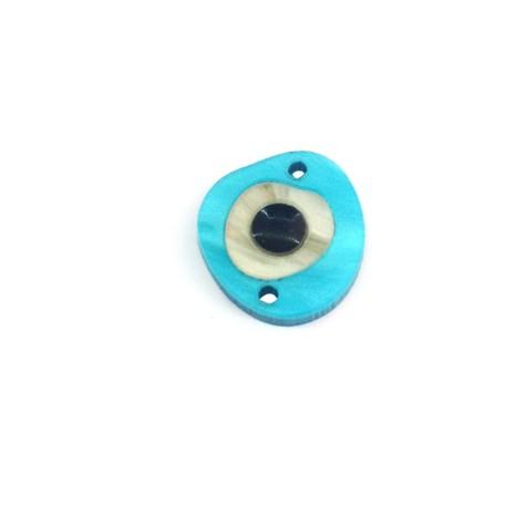 Conector de Plexiacrílico Irregular con Ojo 15x14mm