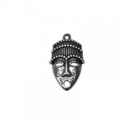 Colgante de Metal Zamak Mascara 20x30mm
