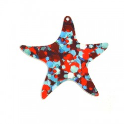 Colgante de Metacrilato Estrella de Mar 62mm