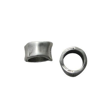 Entrepieza de Metal Zamak Anilla 16x11mm (Ø 11.7mm)