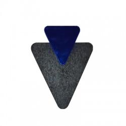 Colgante de Madera y Metacrilato Triangulo 52x68mm