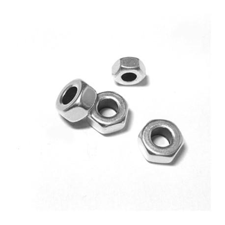 Rondel de Metal Latón Tuerca 10x5mm (Ø 5mm)