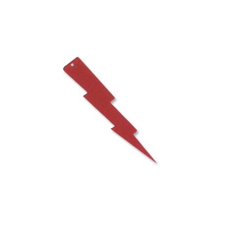 Colgante Plexiacrílico Rayo Glitter 1.2x5.5cm