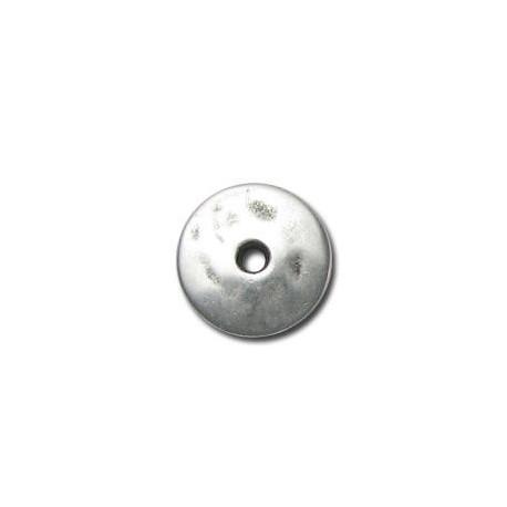 Disco de Metal Zamak 16mm (Ø 2.5mm)