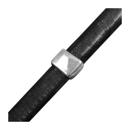 Pasador de Metal Zamak Cubo para Regaliz 10.8x13.6mm(Ø 7x10mm)