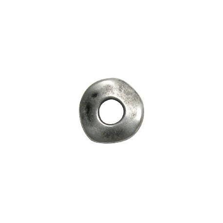 Anilla de Metal Zamak Irregular 21mm (Ø 7.6mm)