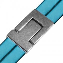 Cierre Magnetico de Metal Zamak 33x24mm (Ø 21x2.3mm)