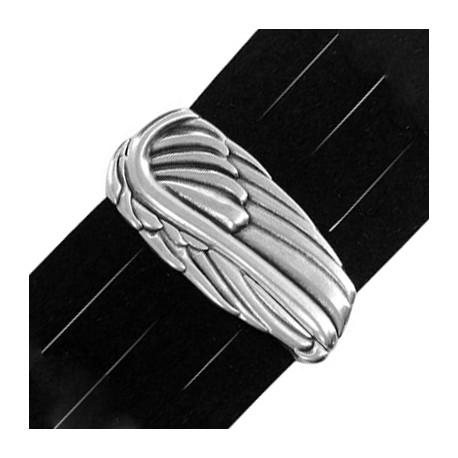 Cierre Magnetico de Metal Zamak Alas de Angel 22x48mm (Ø 40x2.2mm)