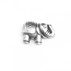 Pasador de Metal Zamak Elefante 13x9mm (Ø1.6mm)