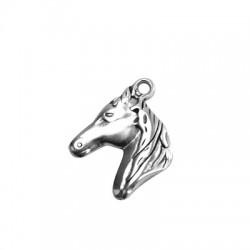 Cabeza de caballo de Metal Zamak 23x27mm