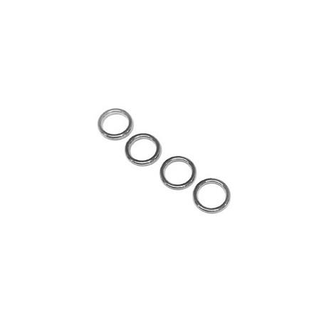 Colgante/Conector de Metal Zamak Cicrulo 12mm