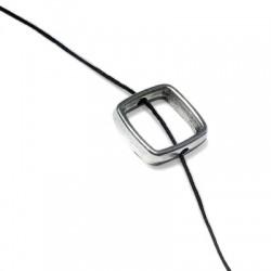 Entrepieza de Metal Zamak Marco Cuadrado 13mm (Ø 1.8mm)