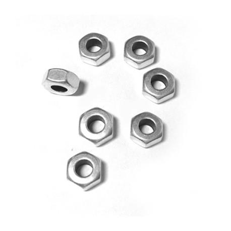 Rondel de Metal Latón Tuerca 8x4mm (Ø 4mm)