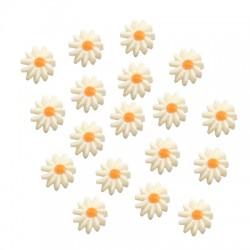 Entrepieza de Nacar Flor Margarita 10mm (Ø1mm)