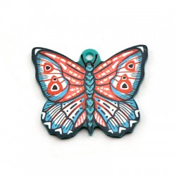 Colgante de Metacrilato Mariposa 37x30mm