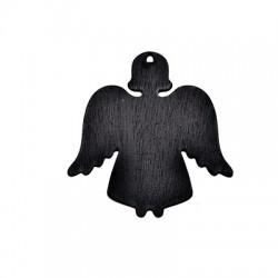 Colgante de Madera Angel Pizarra 90x89mm