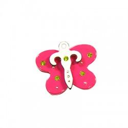 Colgante de Metacrilato Mariposa 27mm