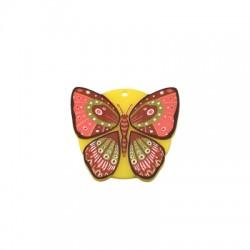 Colgante de Metacrilato Mariposa 30x26mm