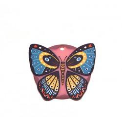 Colgante de Metacrilato Mariposa 40x36mm