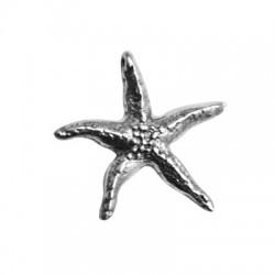 Colgante de Metal Zamak Estrella de Mar 35mm