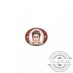 Conector de Madera Frida Kahlo 20x16mm
