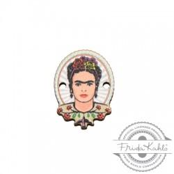 Conector de Madera Frida Kahlo 15x20mm