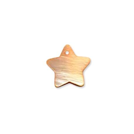 Colgante de Nacar Estrella 18mm
