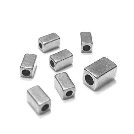 Tubo Cuadrado de Metal Latón 5x3mm (Ø 1,8mm)