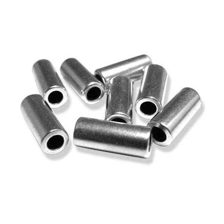 Tubo de Metal Latón 5x12mm (Ø 3mm)