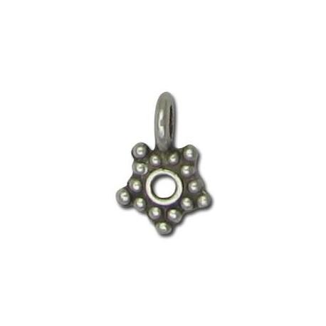 Portacolgante de Metal Zamak Estrella 7mm