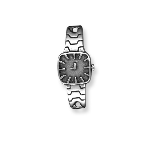 Conector de Metal Zamak Reloj Curvado 16x39mm